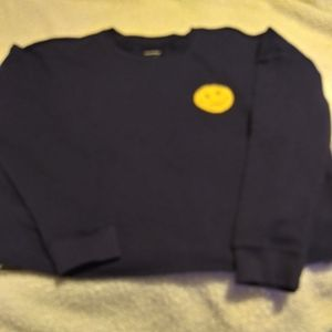 Joe boxer short sweatshirt